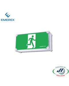 Emerex Weatherproof  Wall Box Emergency Exit Light Non Arrow