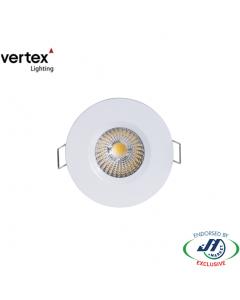 Vertex 8W LED Downlight 5000K 70mm