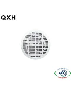 QXH 250mm Ceiling Exhaust Fan Round White Ball Bearing Motor