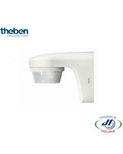 Theben 180D Outdoor Sensor Wall Mount 12M - White