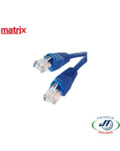 Matrix CAT6 RJ45 Patch Cord 3M Blue